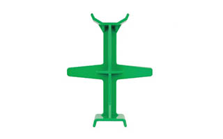 "11.5"" PP Green Motorcycle Fork Support"